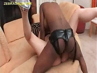 Lesbian Interracial Sex With Toy