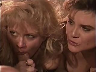 April Rayne w Britt Morgan lesbian threesome