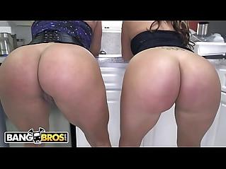 Big Booty Latina Lesbian scene with Becca Diamond Vanessa Luna