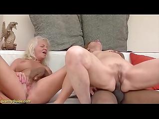big cock interracial for two grannies